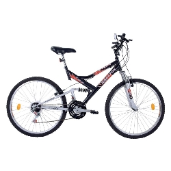 Bicicleta Houston A-26 Stinger St26p Pto/bco